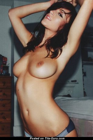 Image. Nude awesome female with medium boobies photo