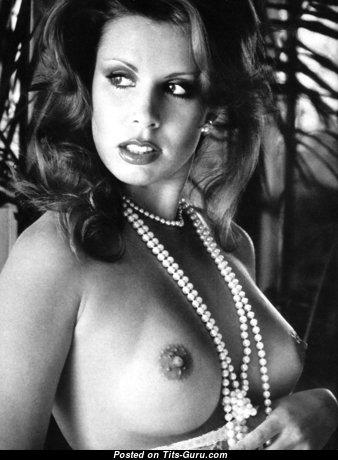 Corrine Alphen - Adorable Topless Brunette (Vintage Hd Sex Picture)
