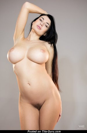 Image. Lucy Li - nude brunette with big tittys pic