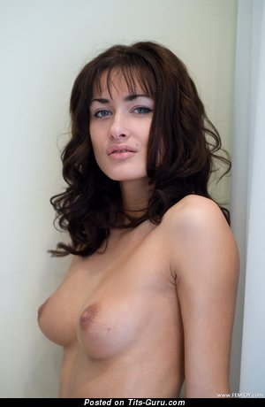 Image. Ava - nude wonderful woman with medium natural boobs photo