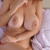 Amazing girl with huge natural tittes pic