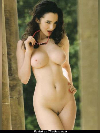 Georgina Darby - Splendid Playboy Floozy with Splendid Bare Real Regular Chest (18+ Pic)