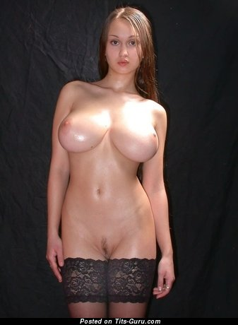 Image. Wonderful lady with big natural boobs image