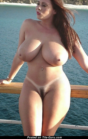 Nude awesome girl with huge boobies image