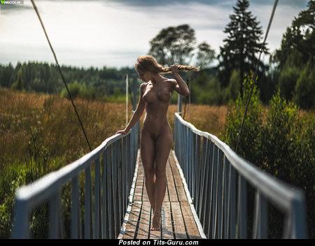 Katerina Rubinovich - Lovely Undressed Brunette (18+ Pix)