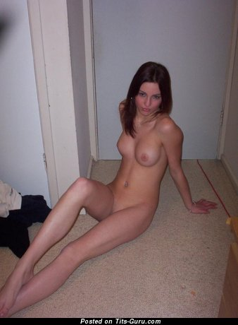 Image. Brunette with natural tits image