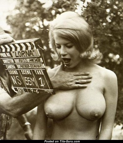 Lorna Maitland - Fine American Blonde with Fine Naked Real Boobys (Vintage Xxx Photoshoot)