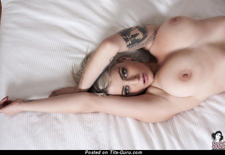 Pulp Suicide - Graceful American Moll with Graceful Bare Natural Medium Tits & Tattoo (Hd Sexual Pix)
