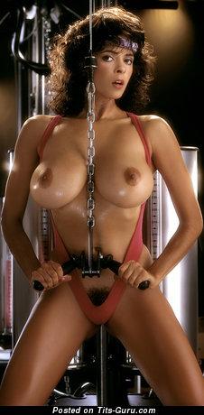Image. Roberta Vasquez - sexy naked latina brunette with big boobies vintage
