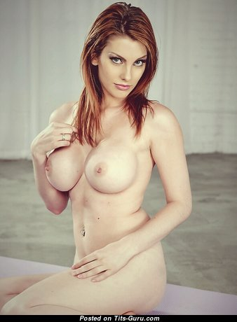 Lilith Lust - Hot French, American Red Hair Babe & Teacher with Hot Bare Round Fake Dd Size Tots in Panties is Undressing (Xxx Photoshoot)
