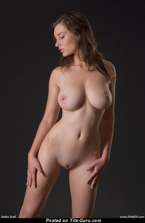 Image. Ashley Spring - naked awesome female with medium natural boobies pic