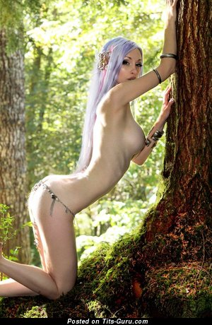 Image. Kato - naked beautiful female with medium fake tits image