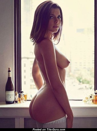 Perfect Babe with Perfect Naked Natural Medium Sized Boobys (Porn Picture)
