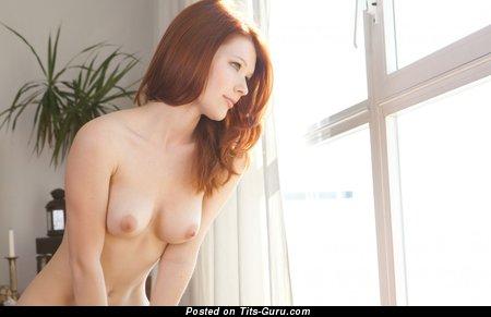 Image. Wonderful female with natural boobies photo