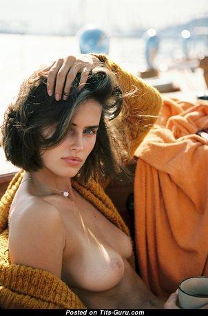 Johanne Landbo - Marvelous Nude Brunette with Tan Lines (Hd 18+ Picture)