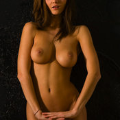 Beautiful lady with big natural boobs image