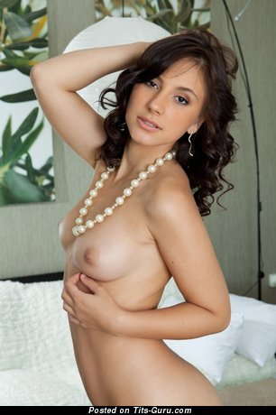 Image. Naked awesome female with small natural tittys photo