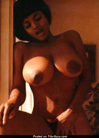Elaine Collins - Marvelous Nude Ebony Babe, Actress & Pornstar (Vintage Sexual Pix)