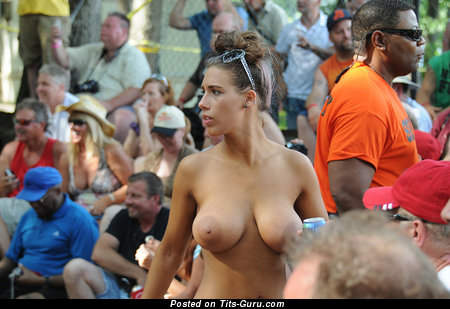 Image. Brunette with huge tits pic
