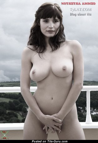 Gemma Arterton - Handsome British Red Hair Actress with Handsome Defenseless Real Regular Tit (Hd Xxx Pic)
