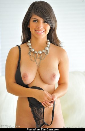 Image. Nude awesome female with big natural breast image