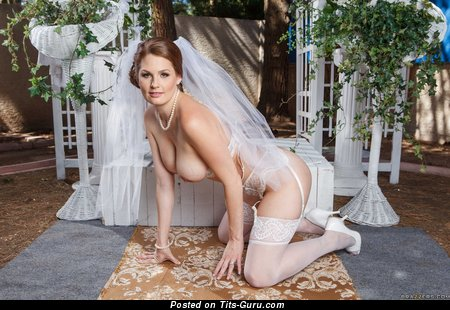 Magnificent Blonde Wife, Bride & Babe with Magnificent Bare Real Tight Busts (Hd Sex Photo)
