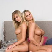 Jenny And Cikita - wonderful girl with big natural breast picture