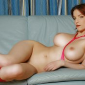 Red hair with big boobs pic