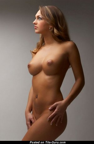 Image. Nude amazing woman with medium natural boobs picture