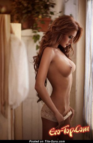 Image. Sexy nude red hair with medium tittes pic