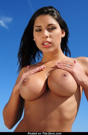 Image. Naked wonderful female with big fake tittes image