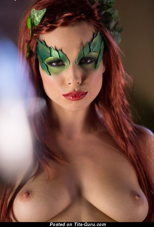 Image. Wonderful lady with medium natural tits photo