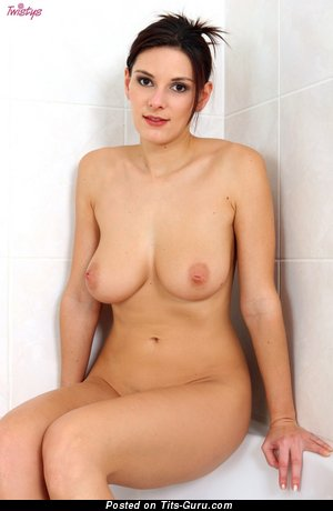 Image. Naked beautiful girl with natural boobies picture