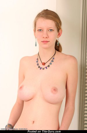 A Valentine - nude blonde with big breast pic