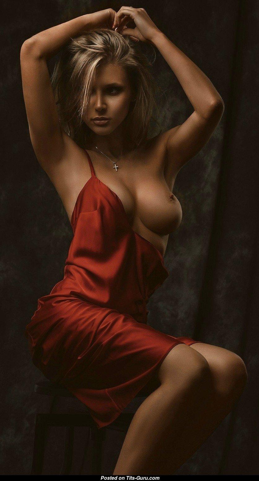 Marina Polnova - Blonde Babe With Open Natural Medium -7456
