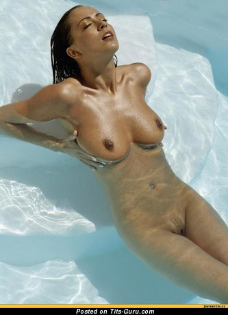 Image. Naked nice girl with medium natural tittys pic
