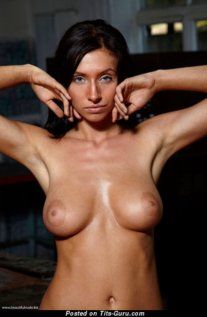 Image. Nadia - nude amazing female with medium natural tots image