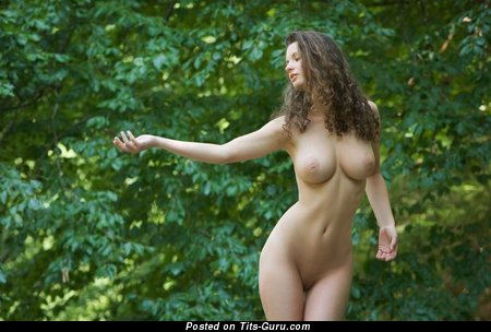 Image. Naked nice lady with big natural tits image