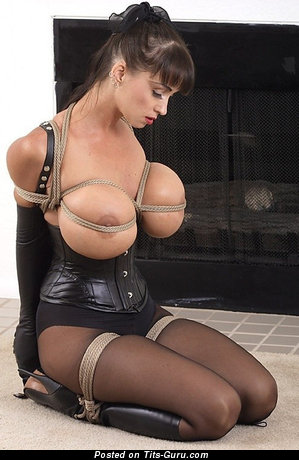 Image. Awesome lady with huge fake boob pic
